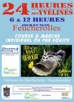 24 heures de Feucherolles - Edition samedi 30 et dimanche 31 mai 2015