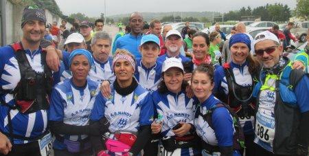 22 km Du Muco Trail du mont SARRAZIN à Nemours - Edition 18 octobre 2015