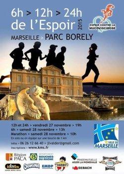 12 heures de l'Espoir à Marseille - Edition 28 novembre 2015