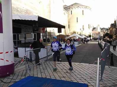 Le Samedi  17-01-2015 La ronde Saint Vincent (Amboise 37) 1906 arrivants - 16,7 Km