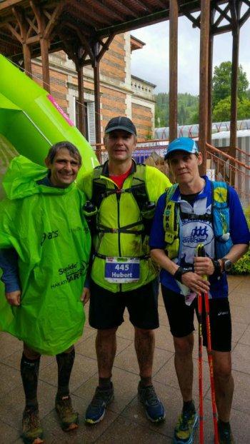 Trail de la vallée des Lacs - Gérardmer (88)  - sous la pluie
