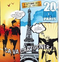 20 km de Paris - dimanche 09 octobre 2016 -  Comme photographe ....