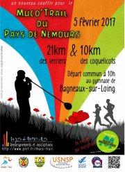 Le 05-02-2017 Trail des Verriers (Bagneau S/Loing 77) 243 arrivants - 22 Km