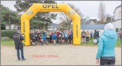 50 km  Ultra Trail des Côtes d'Armor (22) - Dimanche 26 février 2017
