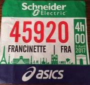 Marathon de Paris - Edition 09 avril 2017