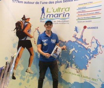 Prochain défi le vendredi 30 et 01 juillet 2017 - Le grand raid du Morbihan les 177 km
