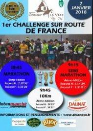 Marathon de Cernay 2018 - Edition 07 janvier 2018