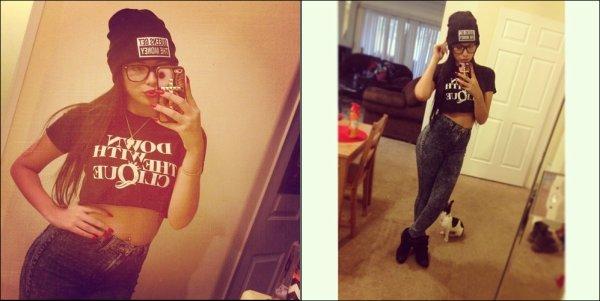 .  Le 16 Novembre, Jasmine a postée plusieurs photos perso sur son compte Instagram  .