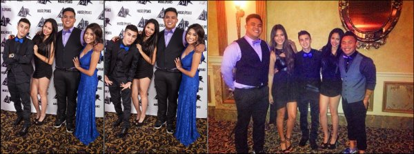 .  Les photos datant du 16 Novembre, lors de la fête FALL BALL organisé par AJ Rafael ou Jasmine & Jream étaient présent viennent d'apparaître + photos  .