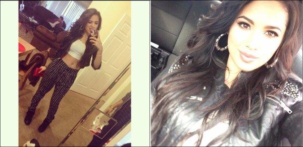 .   Le 23 Novembre, Le matin, Jasmine  s'est fait coiffée & maquillée chez elle par Marissa Lauren  .