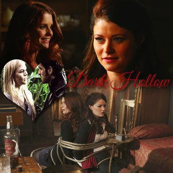 Once Upon A Time « Dark Hollow. Why couldn't it be called something like Sunshine Valley or Rainbow Cove ? »