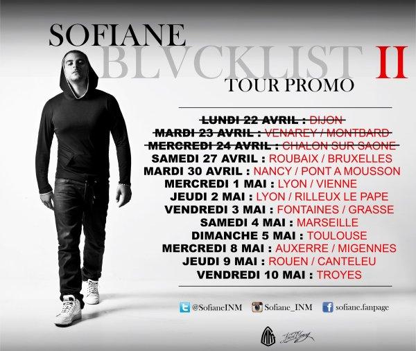 Blacklist 2 TOUR PROMO