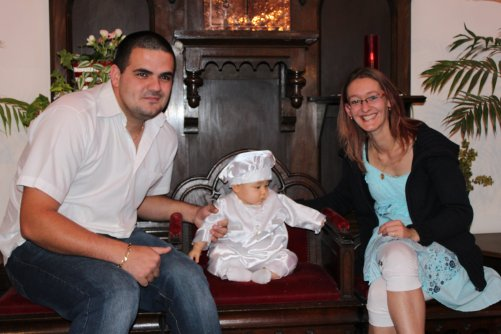 kenny avec papa et maman