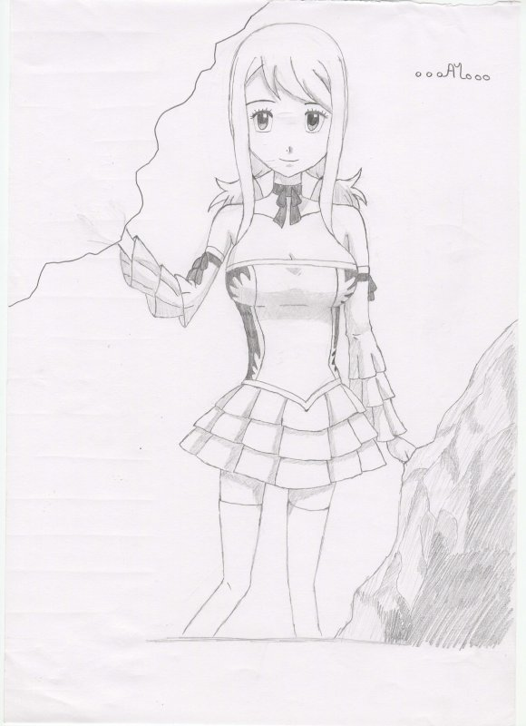 Dessin n°10 - Lucy #1