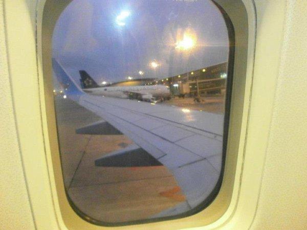 dehors vu de l avion direction l espagne :-)