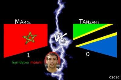 ● Coupe d'Afrique : CAN 2012 - Qualification match Maroc VS Tanzanie ●
