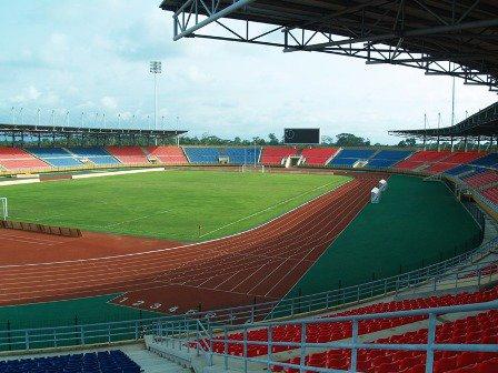 ● MAQUETTE STADE Nuevo Estadio de Malabo ●