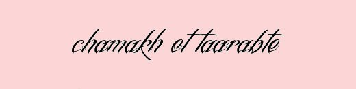 ● Chamakh et Taarabte ●