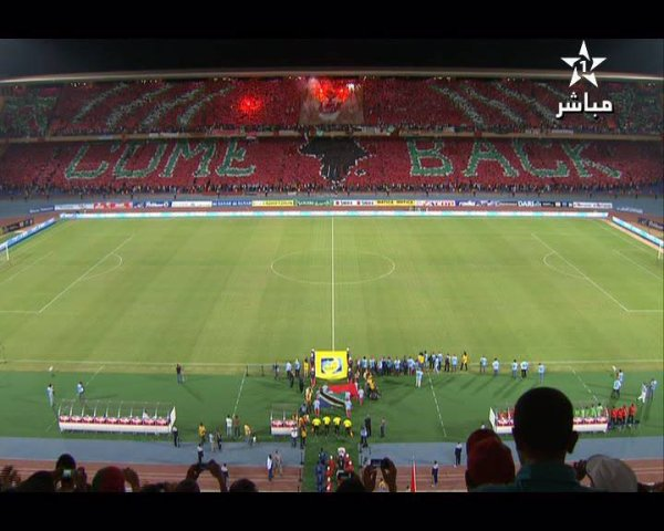 ● Tifo Maroc Vs Tanzanie 9 Octobre Marrakech ●