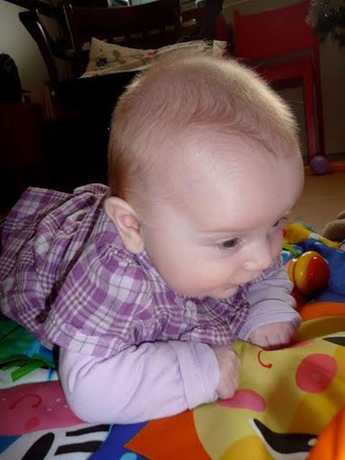 Agathe, mon bébé, ma beauté, ma fierté.