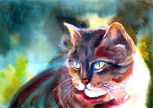 Le chat de Baudelaire