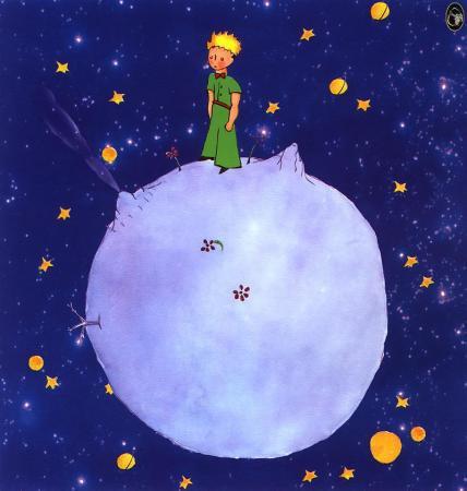 Le Petit Prince de ST exupery préface et rencontre avec la fleur