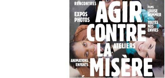 Forum contre la misère : 1, 2 et 3 mars 2013 à La Villette