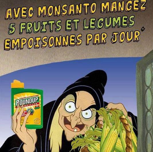 Un défenseur de Monsanto dit que l'herbicide est potable. Un petit coup de Roundup Monsanto ?