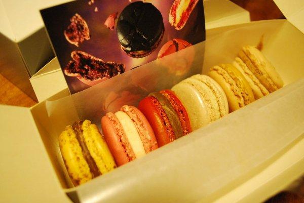 les macarons de Pierre Hermé