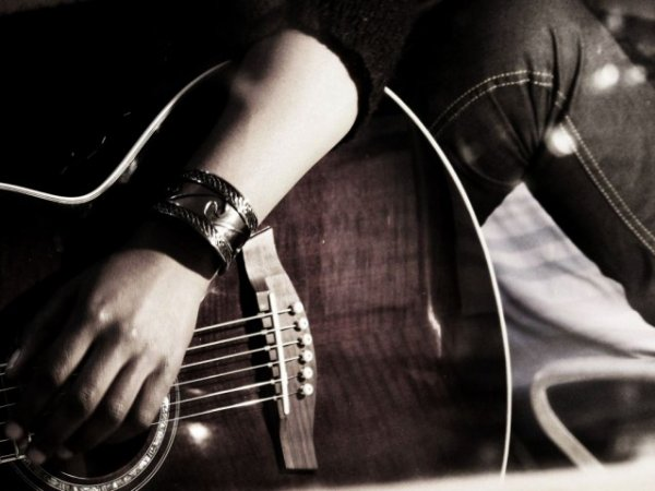 Elle chante le blues