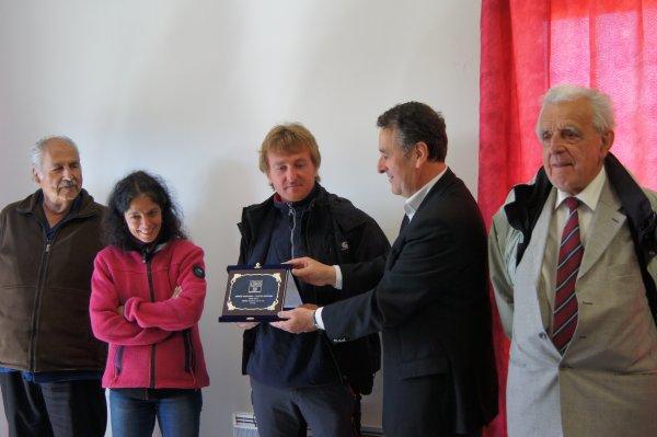 Remise du Trophée Dépatemental Olympique du Cantal  à l'ATCB