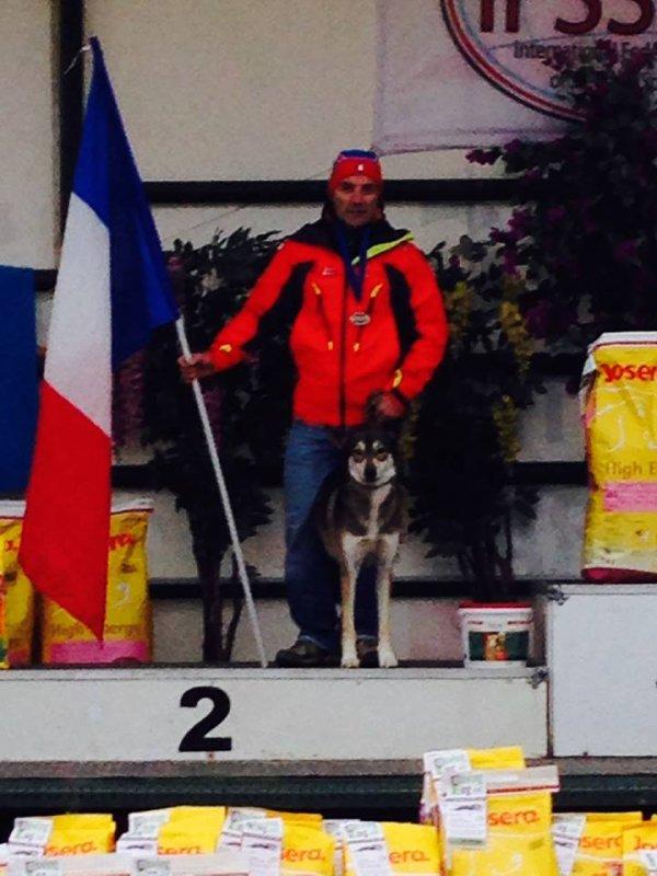Résultats des championnats d'Europe Dryland Lamotte Beuvron 2014