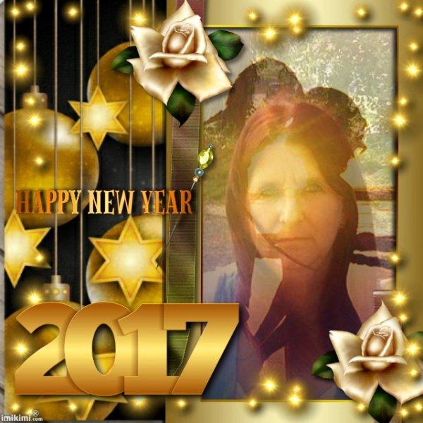 CADEAU POUR TOI MA CHERE AMIE GEGE AVEC TOUS MES MEILLEURS VOEUX POUR 2017 JOIE AMOUR BONHEUR REUSSITE ET SUCCES HAPPY NEW YEAR MY FRIEND GEGE MERCI POUR TA GRANDE FIDELITE GROS BISOUS YOUR FRIEND KIMO