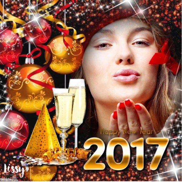 CADEAU POUR TOI MA CHERE AMIE LUNA AVEC TOUS MES MEILLEURS VOEUX POUR 2017 DE BONHEUR PROSPERITE SUCCES REUSSITE JOIE ET BONNE SANTE HAPPY NEW YEAR MY FRIEND LUNA PASSE UN BON DIMANCHE GROS BISOUS YOUR FRIEND KIMO
