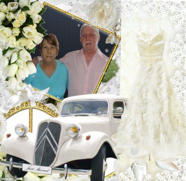 JOYEUX ANNIVERSAIRE DE MARIAGE MA CHERE AMIE MANUE QUE TA VIE SOIT COMBLEE D'AMOUR DE JOIE ET DE BONHEUR JUSQU'A L'ETERNITE PORTE TOI BIEN ET PASSE UN BON WEEK END GROS BISOUS YOUR FRIEND KIMO
