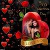 CADEAU POUR TOI MA CHERE AMIE ROMANTIK J'ESPERE QU'IL TE PLAIRA PORTE TOI BIEN ET PASSE UNE BONNE FIN DE SOIREE SUIVIE D'UNE DOUCE NUIT HAPPY VALENTINE MY FRIEND GROS BISOUS YOUR FRIEND KIMO