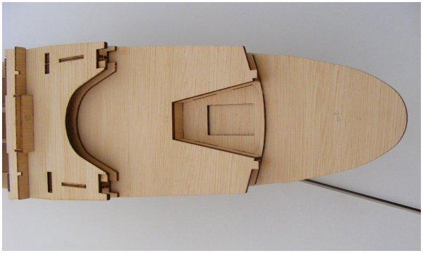 Maquette Paquebot FRANCE - étape 19