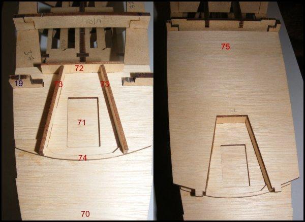 Maquette Paquebot FRANCE - étape 18