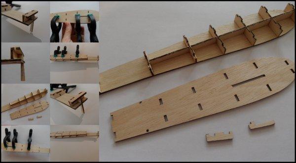 Maquette Paquebot FRANCE - étape 37