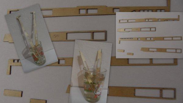 Maquette paquebot FRANCE - étape 38