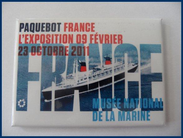 """Magnet """" Musée de la marine """""""