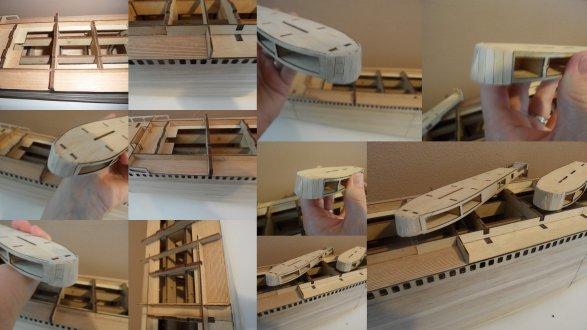 Maquette Paquebot FRANCE - étape 40