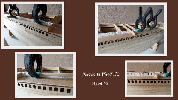 Maquette Paquebot FRANCE- étape 42