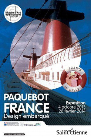 Affiches EXPO Paquebot FRANCE