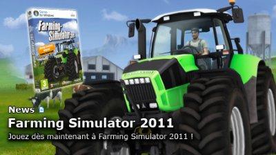 Landwirtchafts simulator 2011 en français