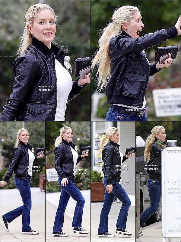 . 11/11/11 : Heidi se baladait dans les rues de L.A. (Californie) pour une raison encore inconnue. Ayem (SS5) déclare qu'elle sera au casting d'un format comme la série The Hills ! La série-réalité ou Heidi M. a jouée pendant 6 saisons ! .