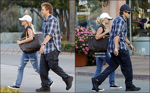 . 28/10/11 : Heidi se baladait dans les rues de L.A. (Californie) pour une raison encore inconnue. + Le 27/09/11: Heidi Montag et Spencer Pratt étaient de sortie à Malibu près de leurs domicile dans Los Angeles pour faire du shopping. .
