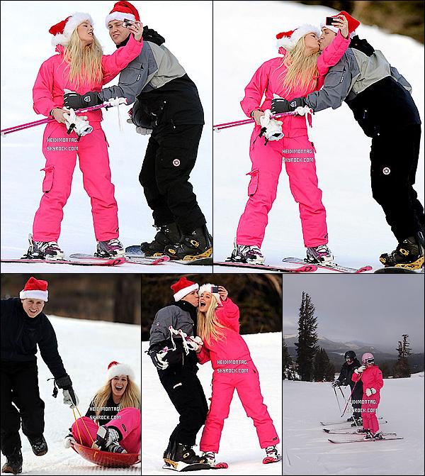 . 25/12/11 : Heidi et Spencer, ont passé la journée à dévalé les pentes de Mammoth, en Californie. Ce week-end , Heidi M. s'est emparée de Twitter .pour confirmer son retour à la chanson en 2012 avec l'arriver d'un tout nouvel album ! .