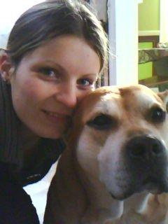 la copine de mon maitre et moi!!!!