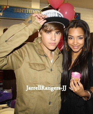 Justin Bieber & Jessica.